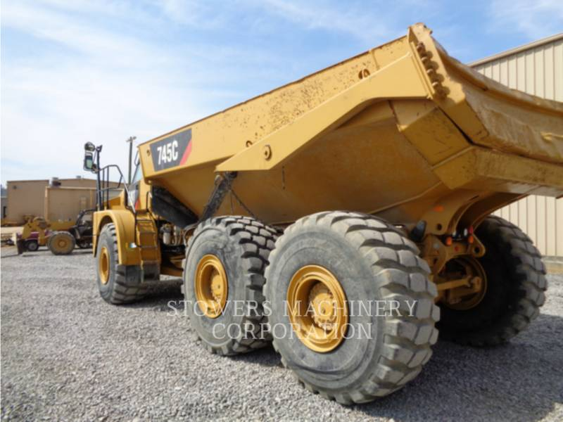CATERPILLAR KNIKGESTUURDE TRUCKS 745C equipment  photo 8