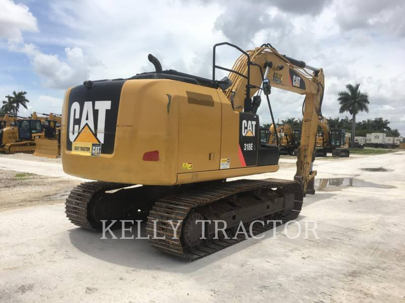 CATERPILLAR TRACK EXCAVATORS 318EL equipment  photo 13