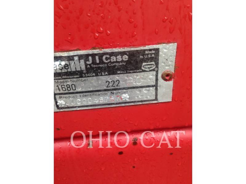 CASE/INTERNATIONAL HARVESTER COMBINES 1020 equipment  photo 17
