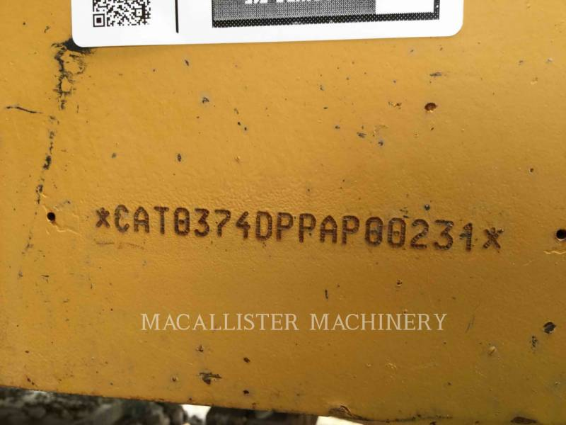 CATERPILLAR ESCAVATORI CINGOLATI 374DL equipment  photo 6