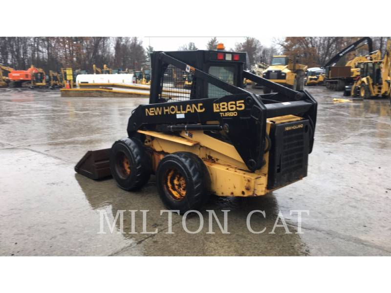 NEW HOLLAND LTD. SKID STEER LOADERS LX865 equipment  photo 5