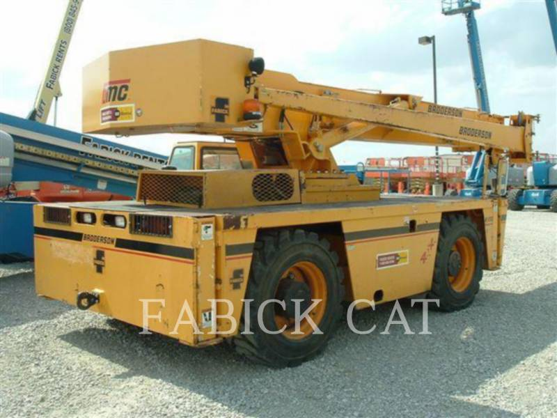 BRODERSON CRANE ŻURAWIE IC250-C3 equipment  photo 4