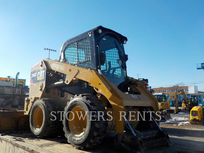 CATERPILLAR SKID STEER LOADERS 246D CAB equipment  photo 3