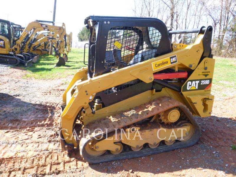 CATERPILLAR KETTENLADER 259D equipment  photo 1
