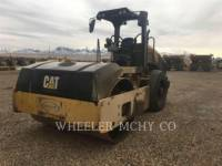 Equipment photo CATERPILLAR CS54B C110 TAMBOR ÚNICO VIBRATORIO ASFALTO 1
