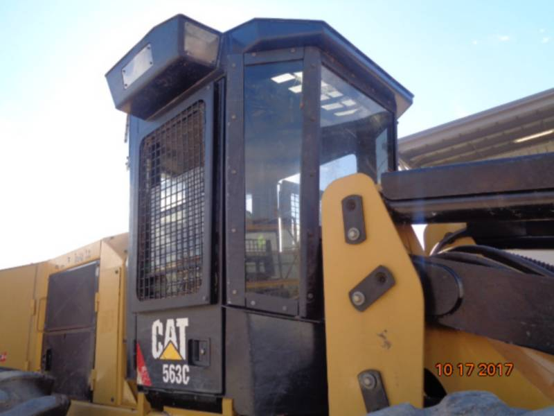CATERPILLAR FORESTRY - FELLER BUNCHERS - WHEEL 563C equipment  photo 15