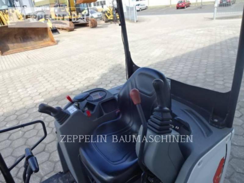 BOBCAT TRACK EXCAVATORS E17 equipment  photo 12