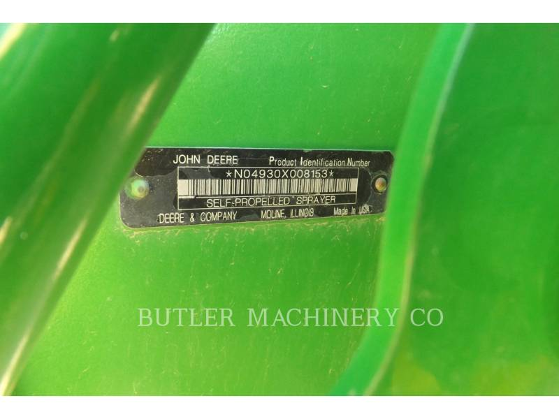 DEERE & CO. PULVERIZADOR 4930 equipment  photo 22