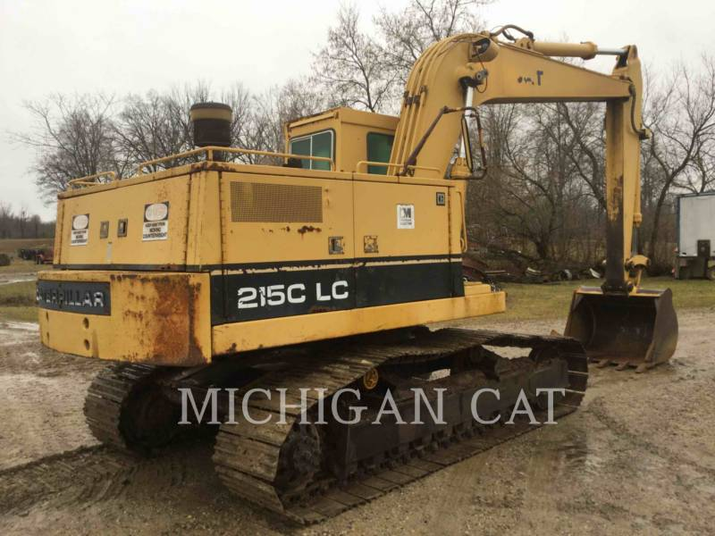 CATERPILLAR TRACK EXCAVATORS 215C LC equipment  photo 4