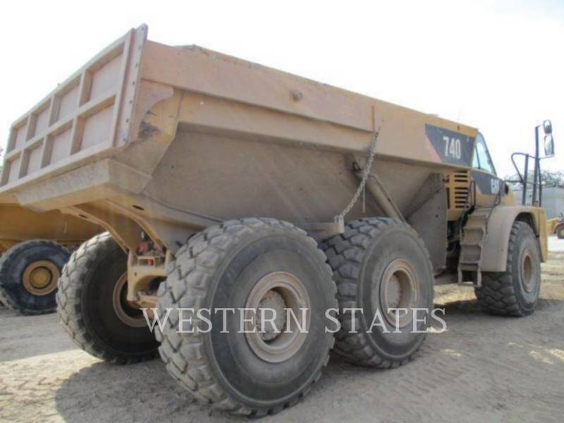 CATERPILLAR OFF HIGHWAY TRUCKS 740 equipment  photo 3