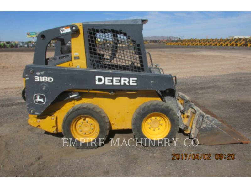 JOHN DEERE SKID STEER LOADERS 318D equipment  photo 7