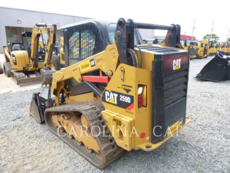 CATERPILLAR TRACK LOADERS 259D CB equipment  photo 4
