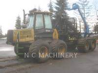 Equipment photo JOHN DEERE 1710D MACHINE FORESTIERE 1