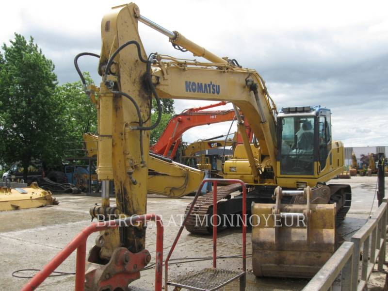 KOMATSU KETTEN-HYDRAULIKBAGGER PC240NLC8 equipment  photo 2