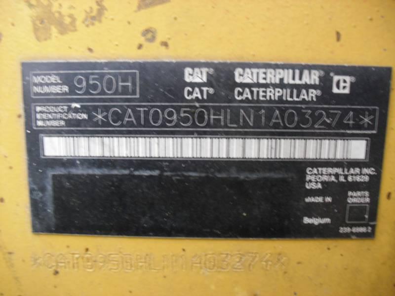 CATERPILLAR ホイール・ローダ/インテグレーテッド・ツールキャリヤ 950H equipment  photo 11
