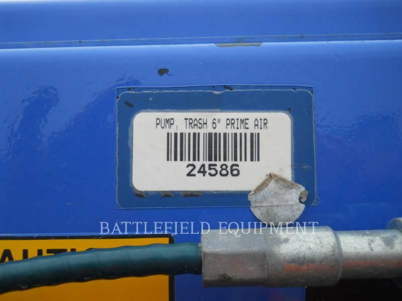 GORMAN RUPP WATER PUMPS / TRASH PUMPS PA6A60-4045D equipment  photo 11