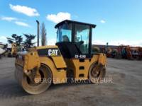 Equipment photo CATERPILLAR CB-434D VIBRATORY DOUBLE DRUM ASPHALT 1