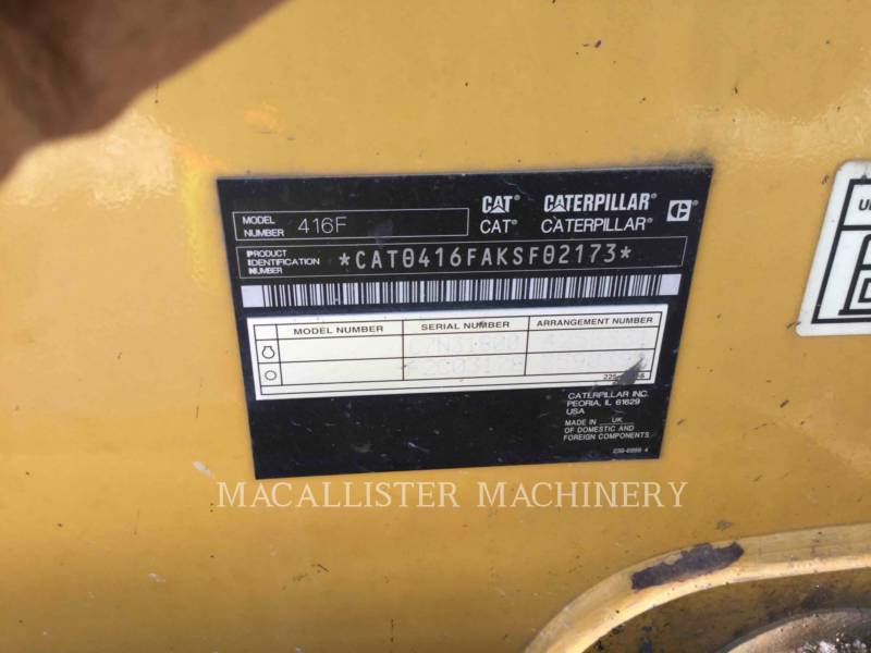 CATERPILLAR TERNE 416FST equipment  photo 5