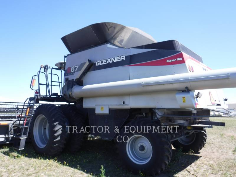 GLEANER MÄHDRESCHER S67 equipment  photo 3