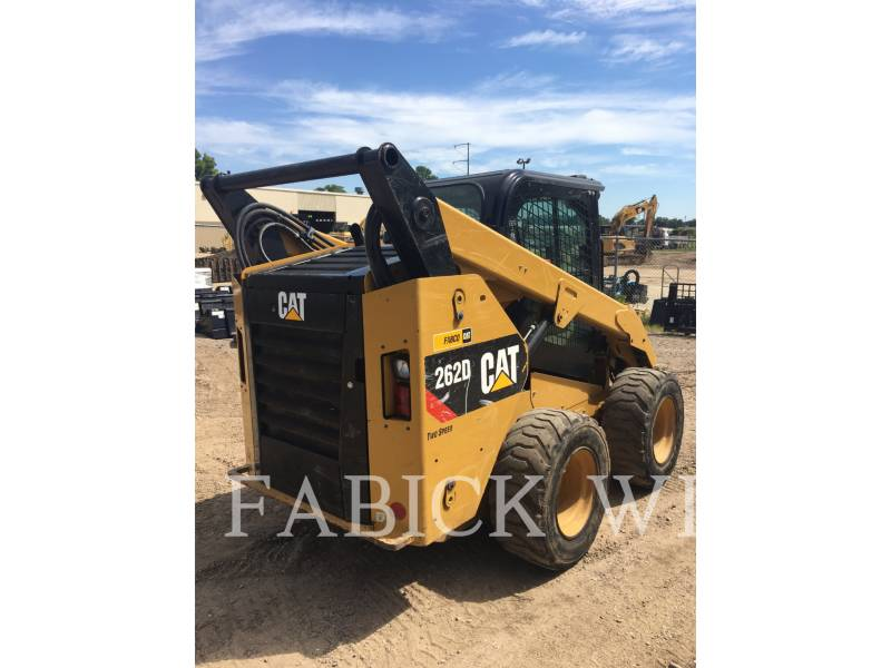 CATERPILLAR CHARGEURS COMPACTS RIGIDES 262 D equipment  photo 4