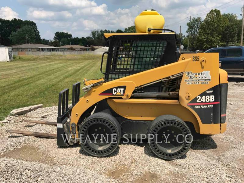 CATERPILLAR MINICARGADORAS 248B equipment  photo 10