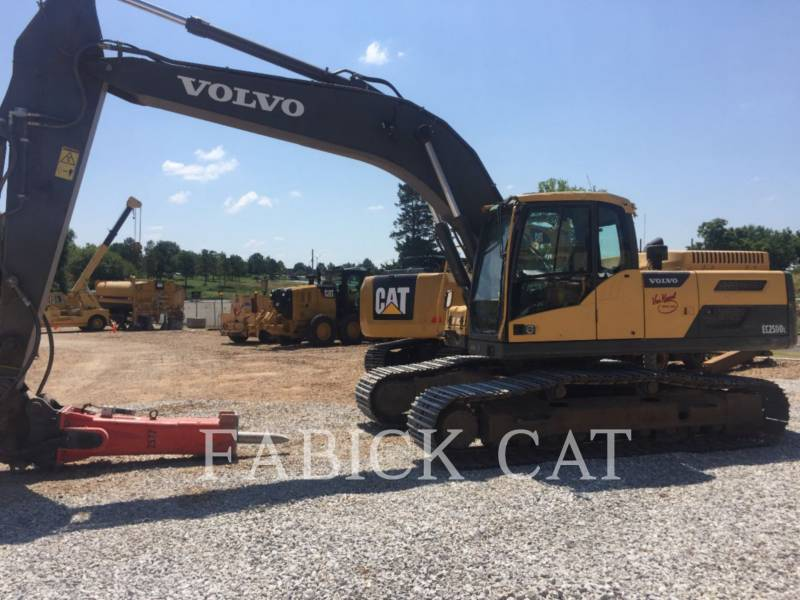 VOLVO CONST. EQUIP. NA, INC. TRACK EXCAVATORS EC250DL equipment  photo 2