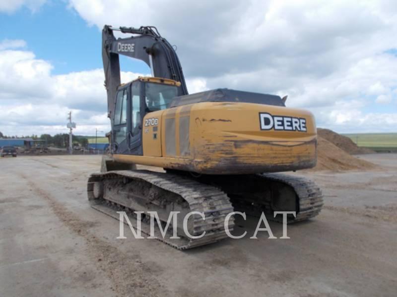 JOHN DEERE PELLES SUR CHAINES 270DLC_JD equipment  photo 2
