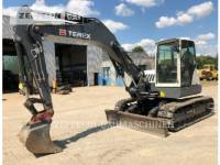 Equipment photo TEREX CORPORATION TC125 PELLES SUR CHAINES 1