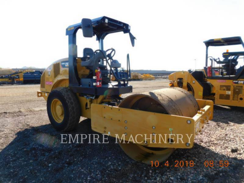CATERPILLAR EINZELVIBRATIONSWALZE, GLATTBANDAGE CS44B equipment  photo 1