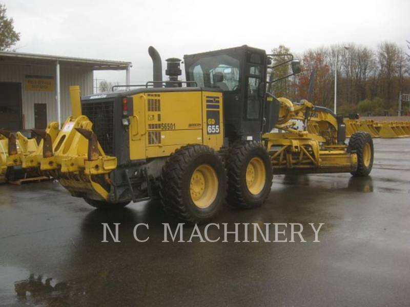 KOMATSU MOTORGRADER GD655-5 equipment  photo 3