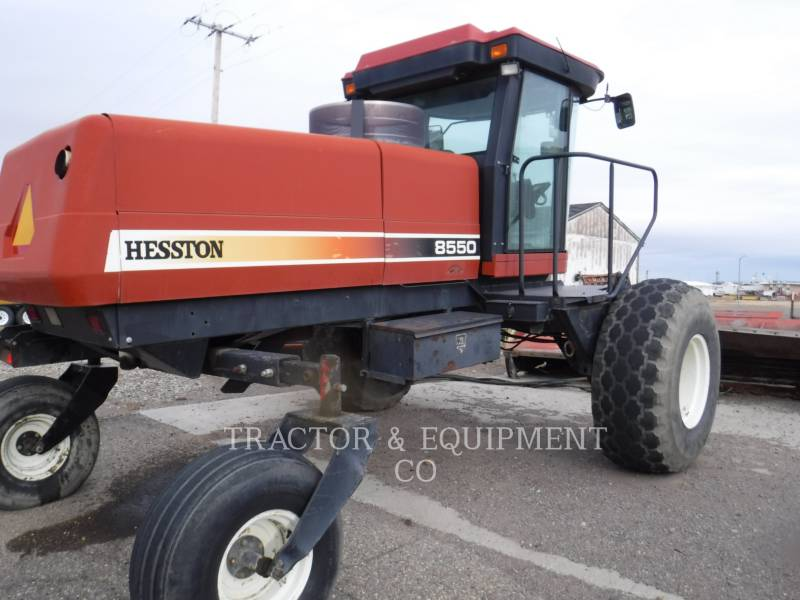 AGCO - HESSTON_ AGRICOLE – ALTELE 8550 equipment  photo 3