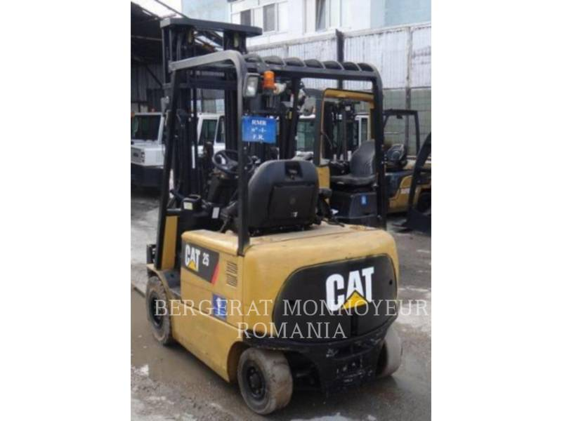 MITSUBISHI CATERPILLAR FORKLIFT FORKLIFTS EP25KPAC equipment  photo 4