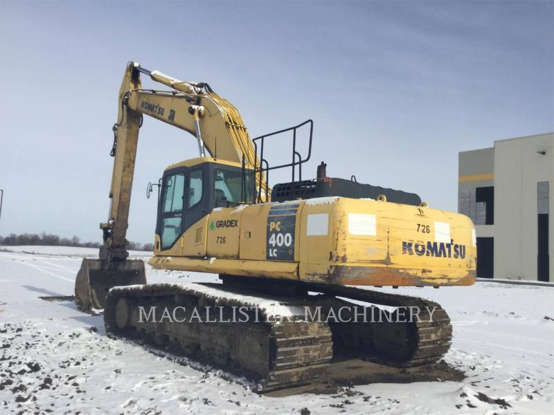 KOMATSU TRACK EXCAVATORS PC400LC-7L equipment  photo 1