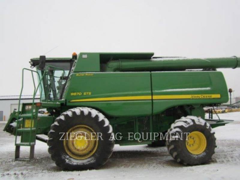 DEERE & CO. COMBINES 9870STS equipment  photo 8
