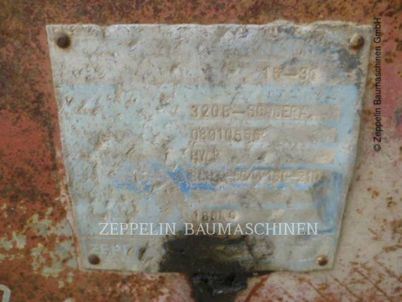 NADO  BACKHOE WORK TOOL SCHNELLWECHSLER HYDR equipment  photo 5