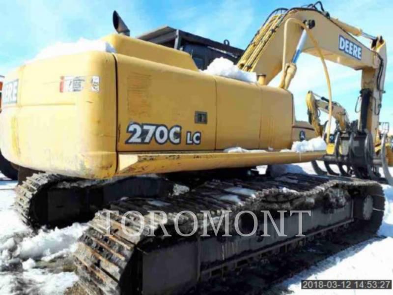 DEERE & CO. TRACK EXCAVATORS 270C equipment  photo 4