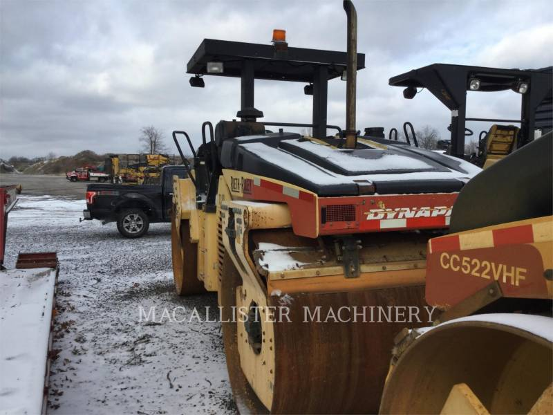 DYNAPAC TANDEMVIBRATIONSWALZE, ASPHALT CC522VHF equipment  photo 3
