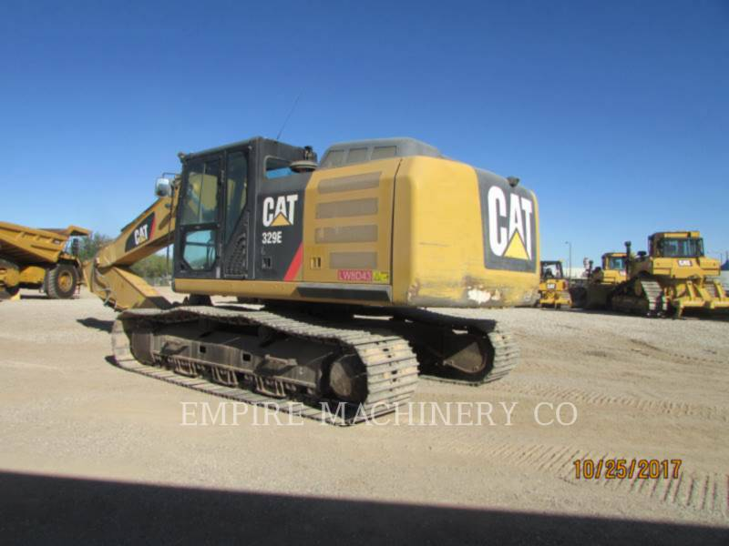 CATERPILLAR KETTEN-HYDRAULIKBAGGER 329EL equipment  photo 2