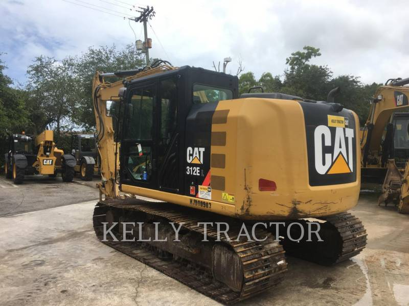 CATERPILLAR KETTEN-HYDRAULIKBAGGER 312EL equipment  photo 11