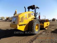 CATERPILLAR TRILLENDE ENKELE TROMMEL GLAD CS56B equipment  photo 2