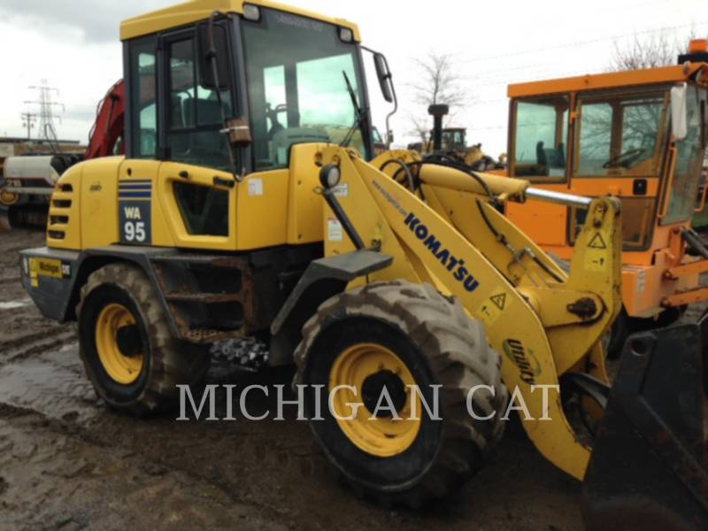 KOMATSU WHEEL LOADERS/INTEGRATED TOOLCARRIERS WA95-3 equipment  photo 7