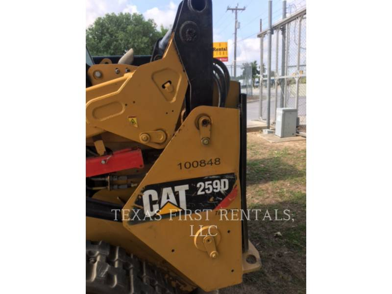 CATERPILLAR CHARGEURS TOUT TERRAIN 259 D equipment  photo 1
