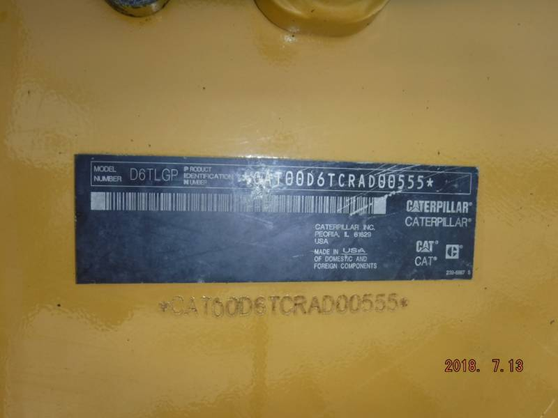 CATERPILLAR TRACK TYPE TRACTORS D6TLGPVP equipment  photo 20