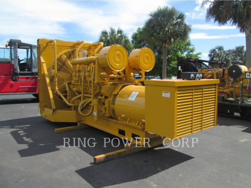 CATERPILLAR STATIONARY GENERATOR SETS 1500 KW equipment  photo 2