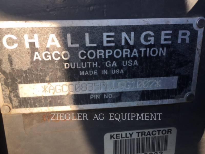AGCO-CHALLENGER LANDWIRTSCHAFTSTRAKTOREN MT835C equipment  photo 4