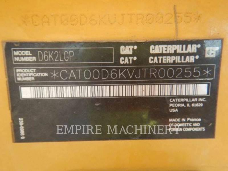 CATERPILLAR TRACTEURS SUR CHAINES D6K2LGP equipment  photo 7
