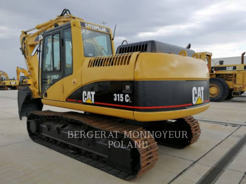 CATERPILLAR TRACK EXCAVATORS 315 C L equipment  photo 3