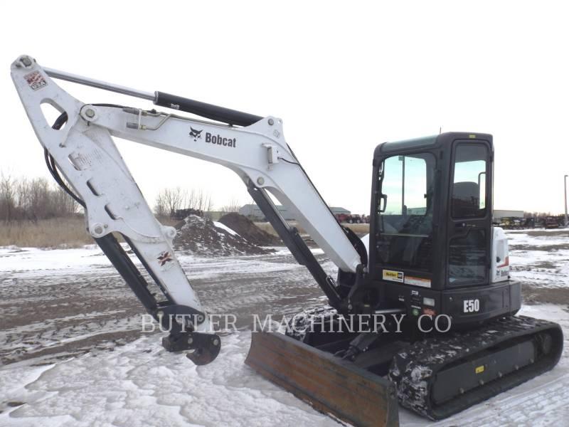 BOBCAT TRACK EXCAVATORS E50 equipment  photo 1