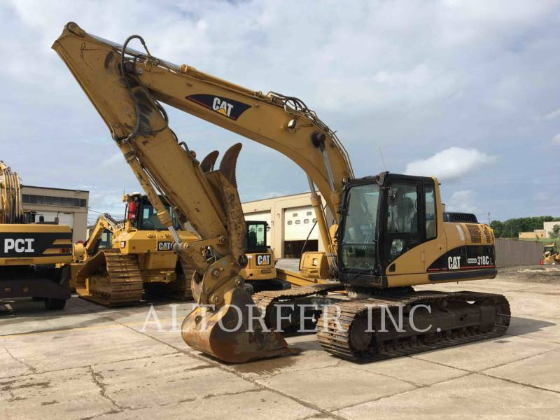 CATERPILLAR EXCAVADORAS DE CADENAS 318CL equipment  photo 1