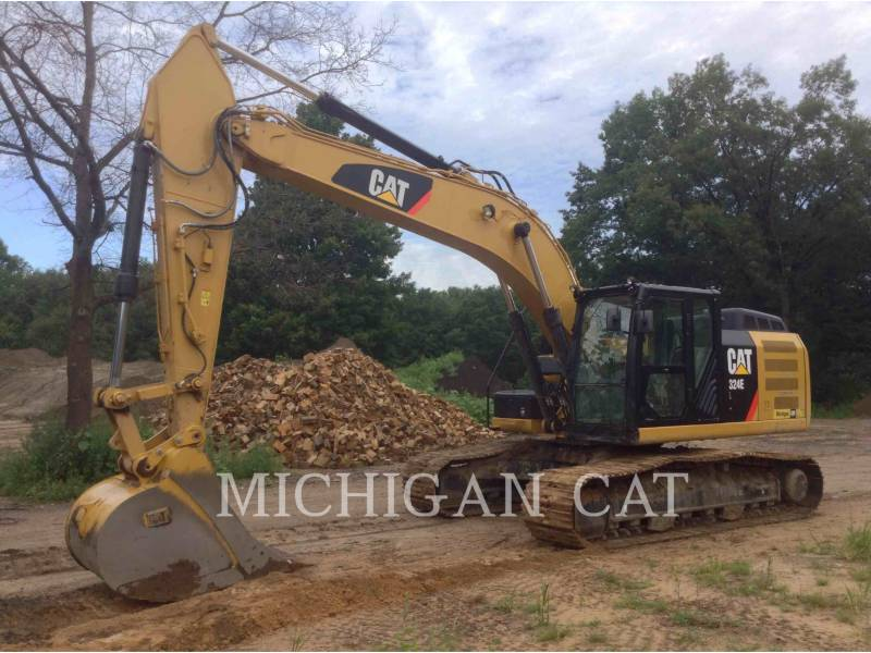 CATERPILLAR TRACK EXCAVATORS 324EL P equipment  photo 1